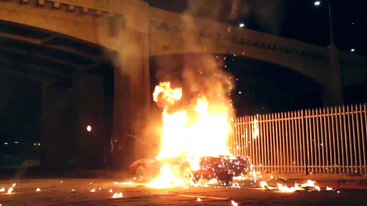Car Explosion By Special Effects Pros