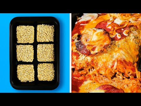 tasty-noodle-hacks-you'll-want-to-try-||-5-minute-recipes-to-become-a-chef!
