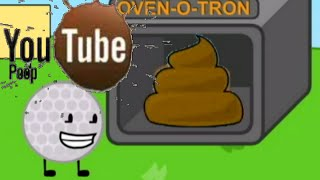 (OLD YTP) Battle for dream island - Golfball Bakes Poop
