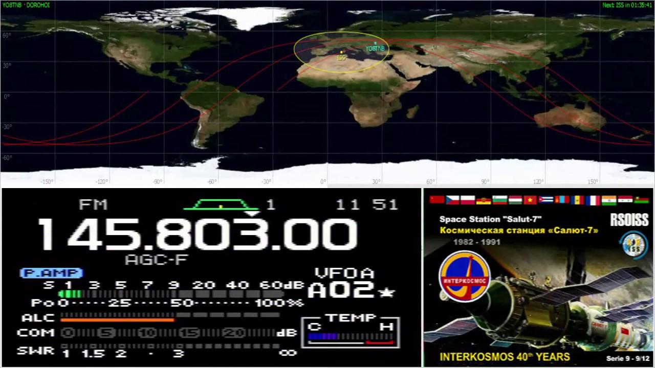 Russian ISS SSTV Event to Celebrate Cosmonautics Day – YO8TNB ro