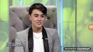 """""""First Love"""" star Edward Barber  bravely answers the King of Talks rapid-fire questions."""