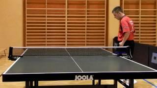 Tischtennis Service Training