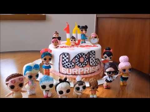 Nowy Kotek Loltort Urodzinowy Lol Youtube