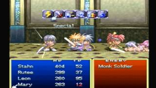 Tales of Destiny (PS1): 99 Hit Combo! (70K Bonus Exp)
