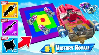 DART DEATHMATCH mit NEUEM MOTORBOOT in Fortnite 2!