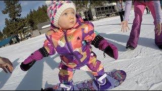 1 Year Old Snowboarder Cash Rowley