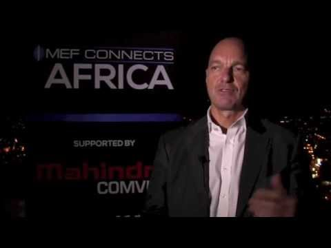 Patrick Allainguillaume, Global Market Unit Head,  MahindraComviva @ MEF Connects Africa