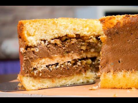 Как называется торт с безе и орехами