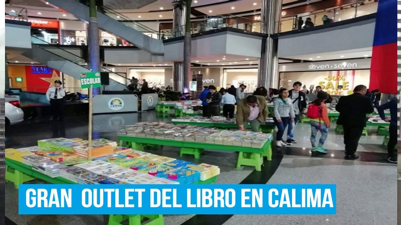 Gran Outlet del libro en el Centro Comercial Calima ¡Espectacular ...