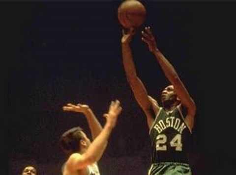 NBA at 50: Sam Jones (biography)
