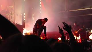 Parkway Drive LIVE Crushed - Josefov, Czech Republic 2016 (2 cams)