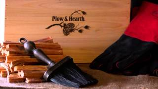 Hearth Lover's Kit Wooden Gift Box Sku#12434 - Plow & Hearth
