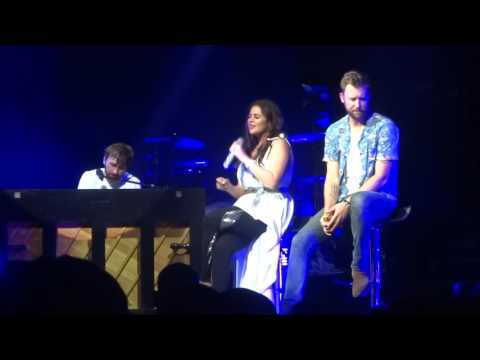 "Hillary Scott and Lady Antebellum sing ""Thy Will"" live at PNC Music Pavilion"