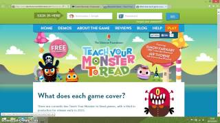 Teach Your Monster to Read- Overview