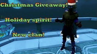 [RS3] - CHRISTMAS GIVEAWAY + Holiday Spirit + New Clan!!!