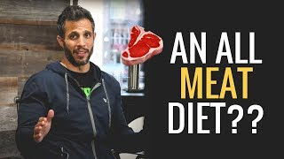The Carnivore Diet: Is Eating ONLY Meat Healthy or Totally F%#*ing Crazy??  (QUAH #15)   MIND PUMP