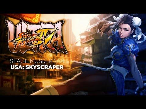 Captain Mazda's Ultra Street Fighter IV Music Mod: Skyscraper Under Construction