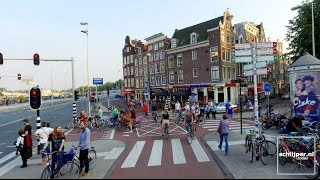 160915 cycling around in amsterdam