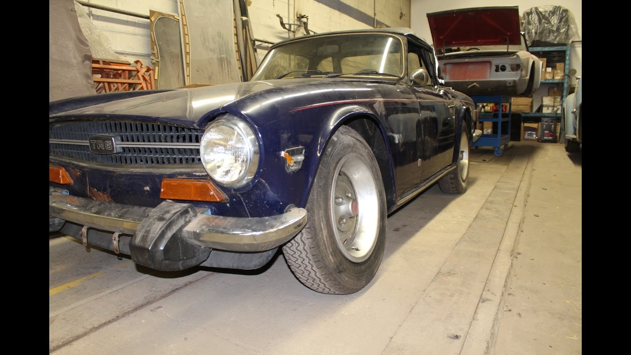 1974 Triumph Tr6 Restoration Project Part 1 Coming Home Youtube