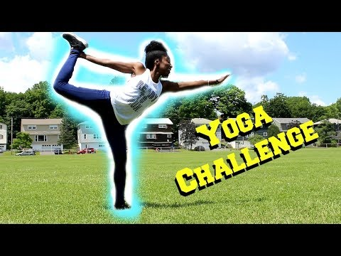 one person yoga challenge  youtube