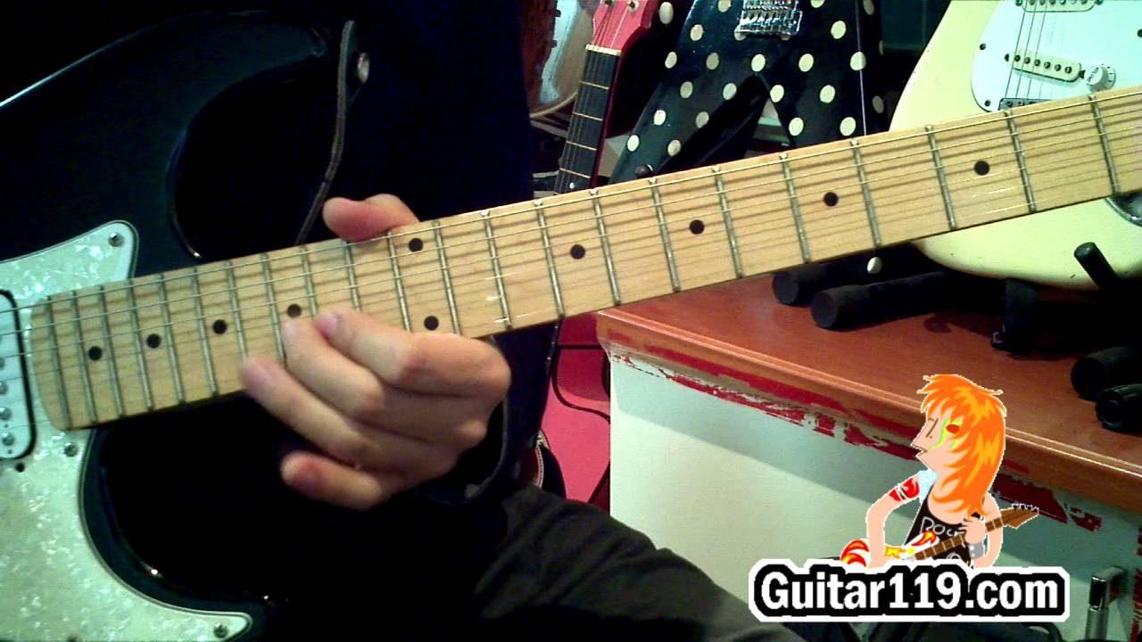 Canon rock_lesson(with tab)_ part1