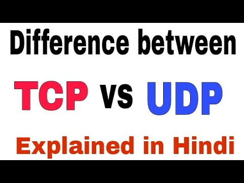 tcp and udp protocol in hindi