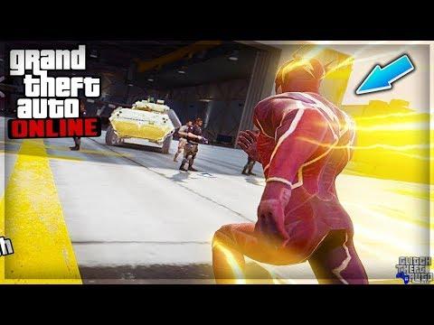 (GLITCH) COURIR SUPER VITE COMME FLASH ! GTA 5 ONLINE 1.40
