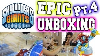 Epic Unboxing [FAIL] of S2 Lightning Rod + Wow Pow (Skylanders Giants)