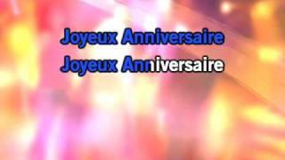 Karaoke Joyeux Anniversaire