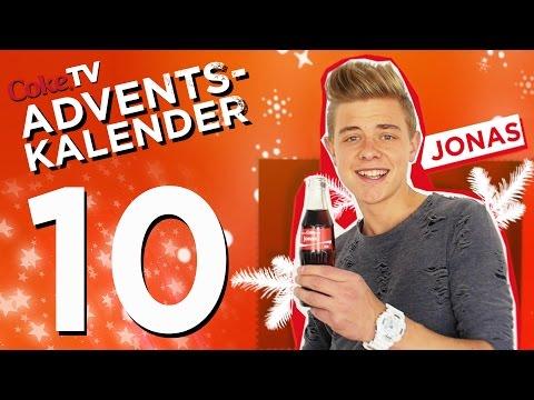 CokeTV Adventskalender: Türchen 10 mit Jonas | #CokeTVMoment