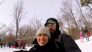 NYC Snow Disaster... or sledding in Central Park 2015