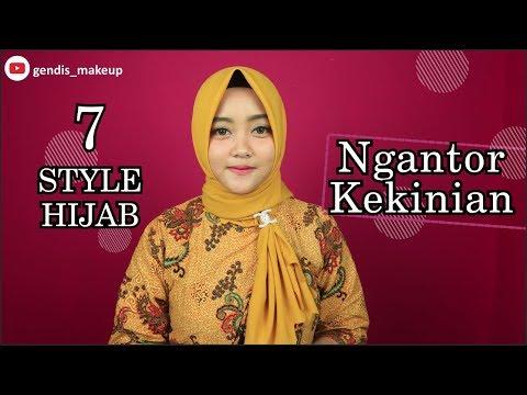 Cara Memakai Hijab Segi Empat Formal Bisabo Channel