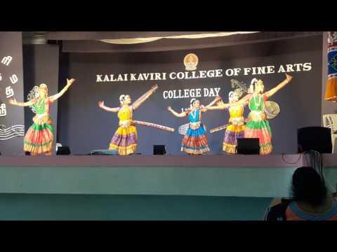 Bharathanatyam.. welcome dance