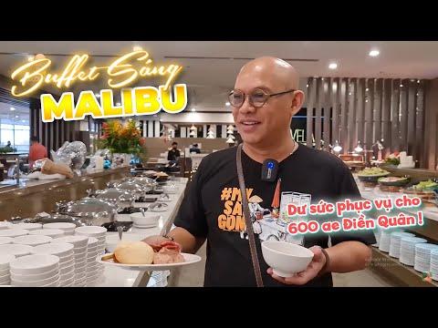 Buffet sáng Malibu Hotel chấm nhất là món xíu mại kiểu Đà Lạt !!!