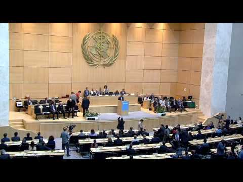 WHO: WHA68 -  World Health Assembly awards public health champions (Arabic version)