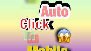 How to auto click in roblox (iPad or any mobile device.)