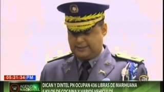 DICAN y DINTEL PN ocupa 436 libras de marihuana 5 kilos de cocaína y varios vehículos