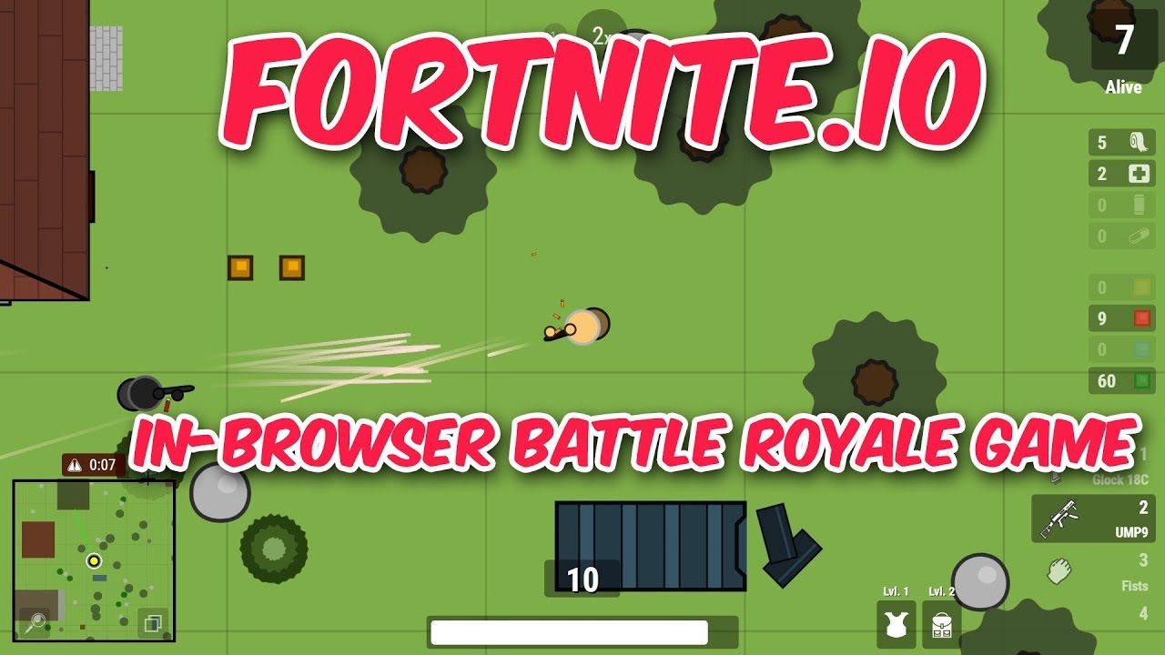 Zombs Royale - 100 Player 2D Real-Time Battle Royale
