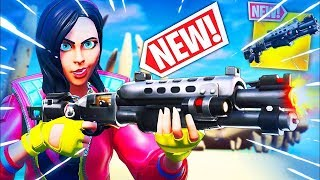 NEW Tac Shotgun Gameplay - New Update - Fortnite Battle Royale - Creator Code STI