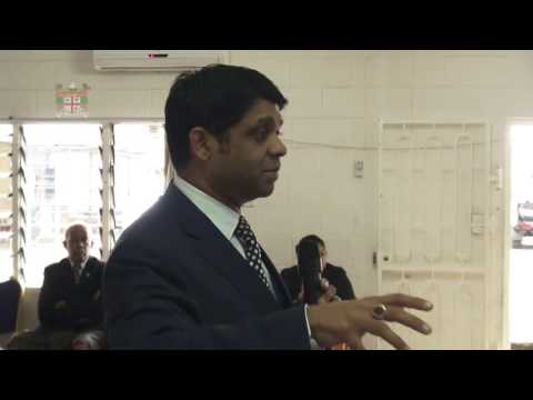 Fijian Minister for Finance holds budget consultation Fiji Disabled Peoples Association