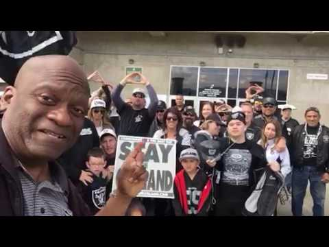Oakland Raiders Fans Say Not Coming To Las Vegas At Coliseum