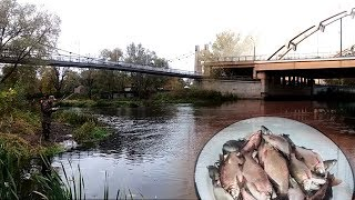 Брест. Рибалка між двох мостів