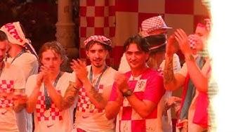 Wie Weltmeister: 100.000 bereiten Kroatien frenetischen Empfang