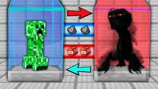 Minecraft NOOB vs PRO vs HACKER vs GOD : CREEPER EVOLVE INTO SECRET MUTANT | Challenge!