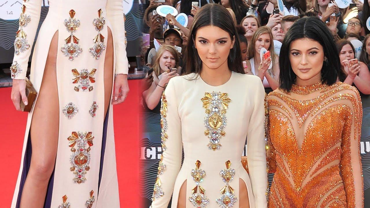 Kendall Jenner S Crotch Wardrobe Malfunction Kylie Mini Dress Mmva 2017