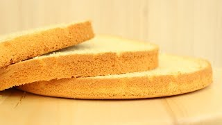 Шифоновый Бисквит ✧ Chiffon Sponge Cake Recipe ✧ Şifon Pandispanya Tarifi