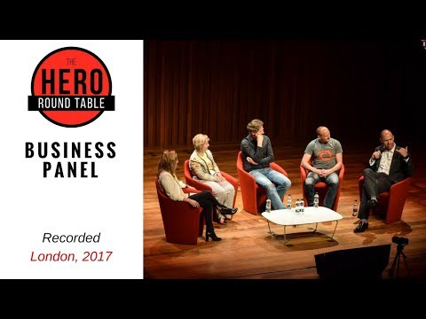 What is Heroism in Business? Panel session on how to be heroic in a corporate environment