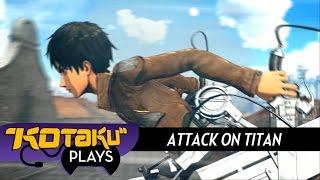 Kotaku Plays Attack On Titan