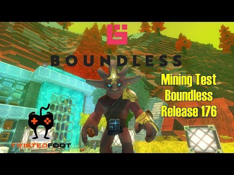 Mining Test | Boundless Release 176 Let's Play Gameplay