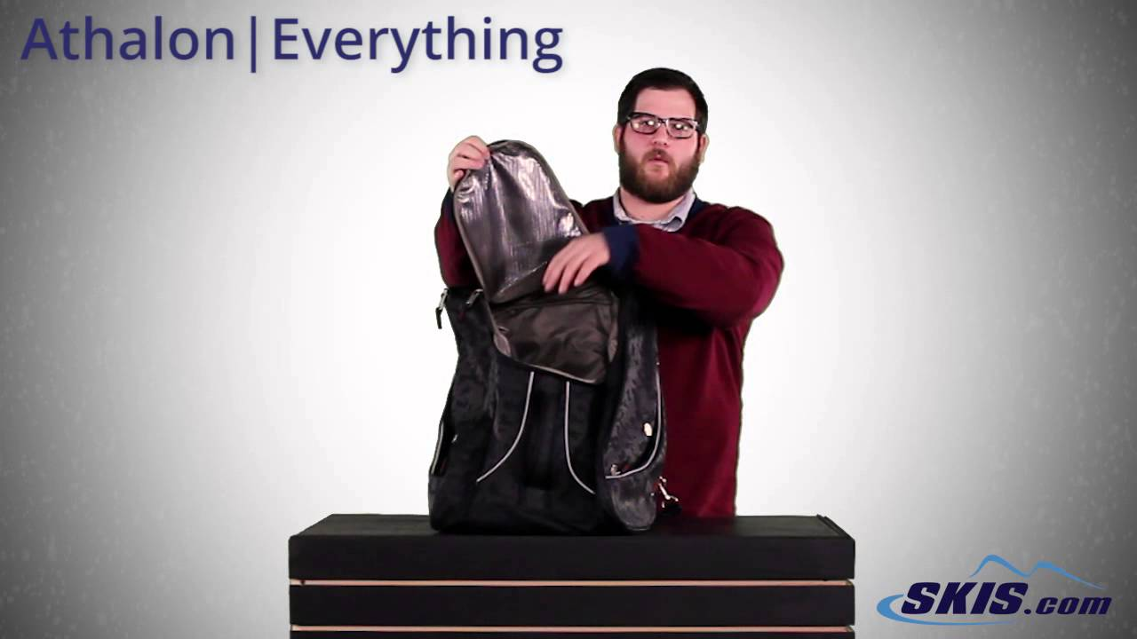 fa43c1a60b Athalon Everything Ski Boot Bag 2017 - YouTube